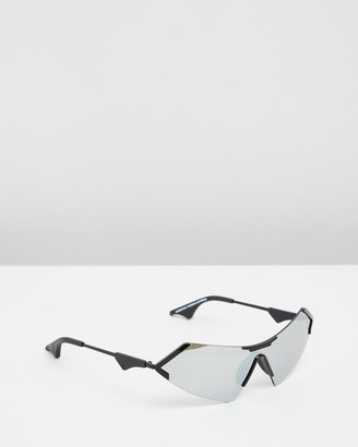 Le Specs Women's Silver Retro - HBIC Christian Cowan x Size One Size at The Iconic