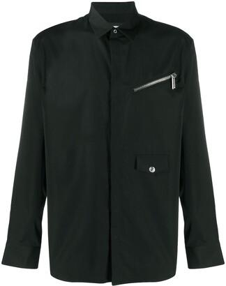 DSQUARED2 Zip-Pocket Long-Sleeve Shirt