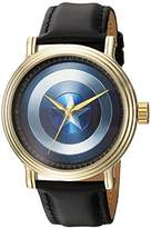 Marvel Men's 'Captain America' Quartz Metal Casual Watch