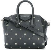 Givenchy mini flower detail Antigona tote - women - Calf Leather - One Size