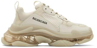 Balenciaga Off-White Triple S Sneakers