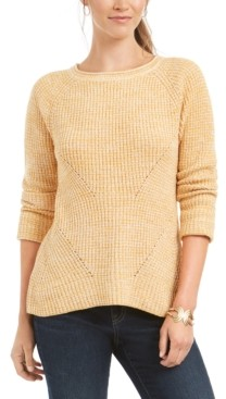 Style&Co. Style & Co Pointelle Sweater, in Regular & Petite, Created for Macy's