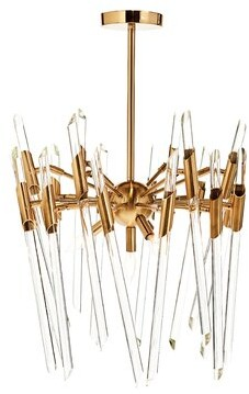 Aidan Gray Themyscira 4 - Light Sputnik Sphere Chandelier with Glass Accents