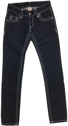 True Religion Blue Cotton Jeans for Women