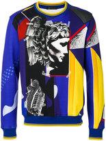 Versace Medusa collage sweatshirt - men - Cotton/Polyamide - M