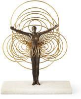 Global Views Bauhaus Wire Woman Sculpture