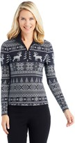 J.Mclaughlin Bedford Top in Frosted Needlepoint