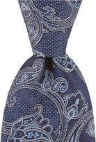 Hart Schaffner Marx Mixed Paisley Traditional Silk Tie