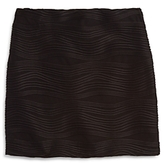 Aqua Girls' Wave Textured Skirt, Big Kid - 100% Exclusive