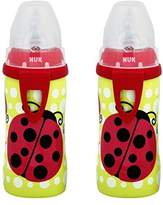 NUK Ladybug Silicone Spout Active Cup, 10-Ounce (2 Pack)