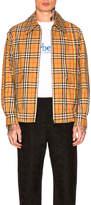 Burberry Full Zip Harrington Jacket
