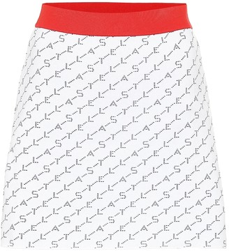 Stella McCartney Stretch jersey miniskirt