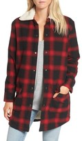 BB Dakota Women's Bradley Fleece Lined Plaid Coat