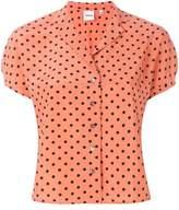 Aspesi polka dot short sleeve shirt