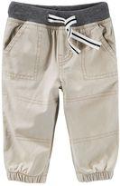 Osh Kosh Baby Boy Solid Jogger Pants