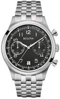 Bulova Men's Classic Chronograph Bracelet Watch, 42mm