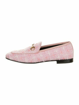 Gucci Jordaan 1955 Horsebit Accent Loafers w/ Tags Pink