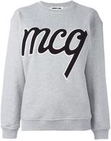 McQ by Alexander McQueen logo patch sweatshirt - women - Cotton - M