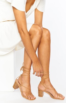 Show Me Your Mumu Yalena Wrap Heels