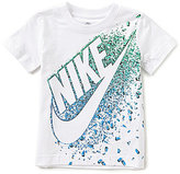 Nike Little Boys 2T-7 Exploding Futura Short-Sleeve Tee