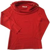 Balmain Red Wool Knitwear