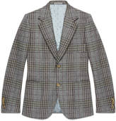 Gucci Heritage flannel check jacket