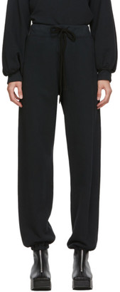 Raquel Allegra Black Drawstring Lounge Pants