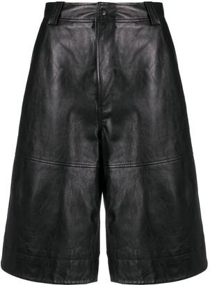 Ganni Knee-Length Lambkin Shorts