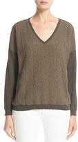Fabiana Filippi Women's Macrame Front Sweater