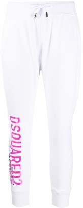 DSQUARED2 Cropped Logo Track Pants