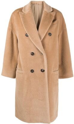 Brunello Cucinelli Double-Breasted Coat