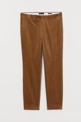 H&M Skinny Fit Corduroy Pants