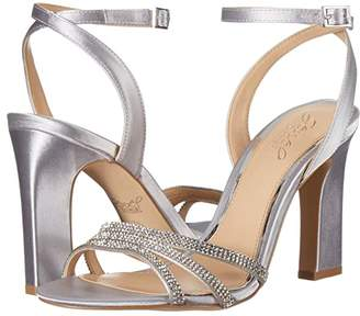 Badgley Mischka Sparkle (Champagne) Women's Dress Sandals