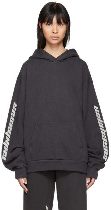 Yeezy Black Calabasas French Terry Hoodie
