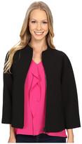 Ellen Tracy Funnel Neck Jacket