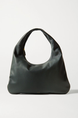 The Row Everyday Textured-leather Shoulder Bag - Green