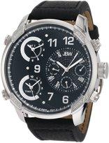 """JBW Men's J6248LB """"G4"""" Multi-Time Zone Lifestyle Diamond Watch"""