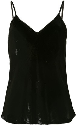 Mes Demoiselles Silk Vest Top