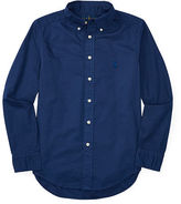 Ralph Lauren 8-20 Cotton Twill Shirt