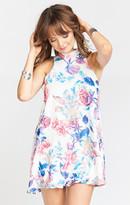 MUMU V-Right Back Mini Dress ~ Rosalita