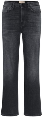 7 For All Mankind Alexa cropped high-rise jeans
