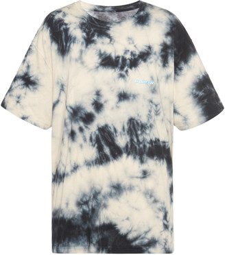Off-White Tie-Dyed Cotton-Jersey T-Shirt