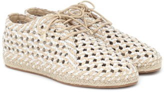 Zimmermann Woven leather Derby shoes