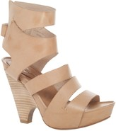 Max Studio Novella - Leather Scooped Wedge Sandals