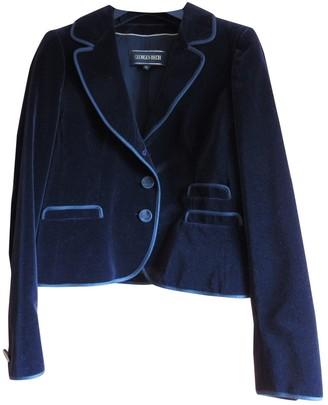 Georges Rech Black Velvet Jacket for Women