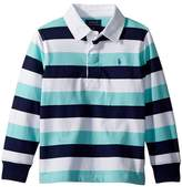 Polo Ralph Lauren Striped Cotton Jersey Rugby Boy's Clothing