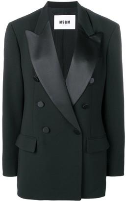 MSGM tailored fit blazer