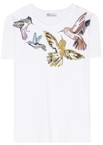 RED Valentino Graphic Printed Cotton T-shirt