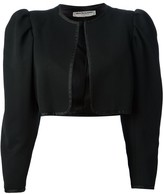 Saint Laurent Pre Owned cropped bolero jacket