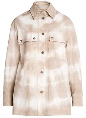 Stella McCartney Bamboo Safari Tie Dye Shirt